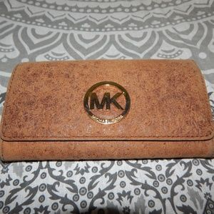 Michael Kors Distressed Ostrich Skin Wall